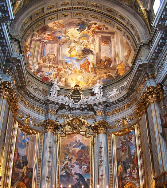 Baroque and Renaissance in Rome-Chiesa del Gesù