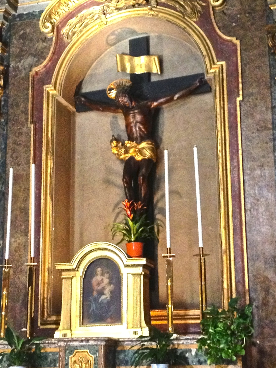 The Oratory of SS. Crucifix.