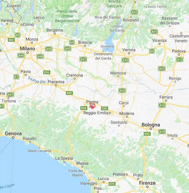 """Parma """"the ville en rose"""""""